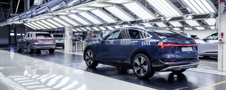Audi e-tron Sportback - Production