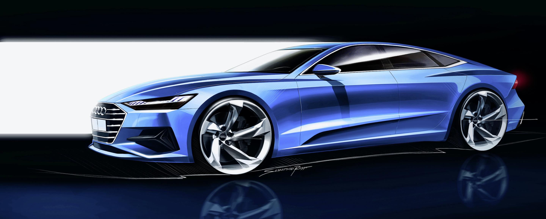 Audi A7 Sportback - Design sketch