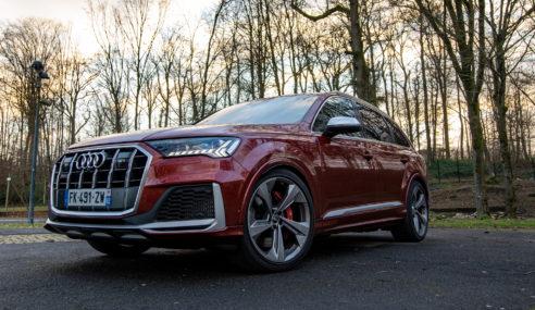 Essai : Audi SQ7 TDI facelift – Le retour du roi