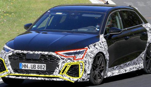 Le missile sol-sol Audi RS 3 Sportback est en route