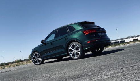 Essai – Audi SQ5 TDI – Le son et l'image