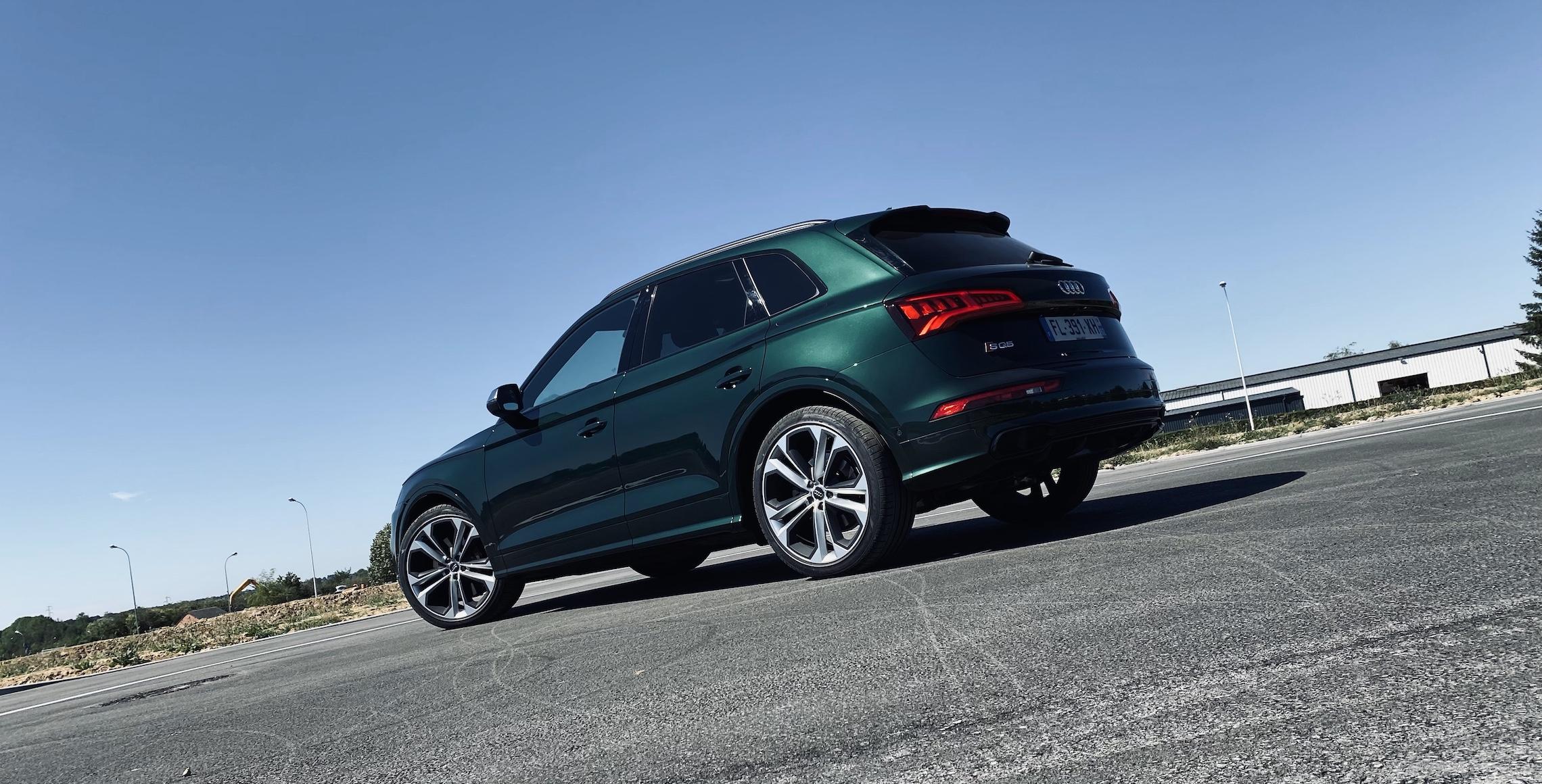 Audi SQ5 TDI - 3/4 Arrière