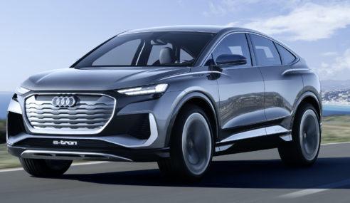 Audi Q4 Sportback e-tron concept : style et efficience