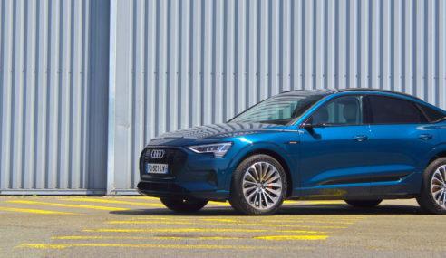 Essai : Audi e-tron Sportback 55 quattro – Technologie dynamique