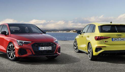Nouvelles Audi S3 Sportback et Audi S3 Berline, encore plus dynamiques
