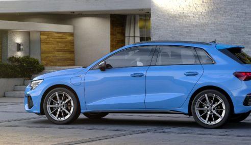 L'Audi A3 Sportback se décline en hybride rechargeable