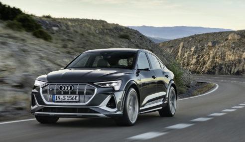 La gamme e-tron se bonifie : nouvelles Audi e-tron S et Audi e-tron S Sportback