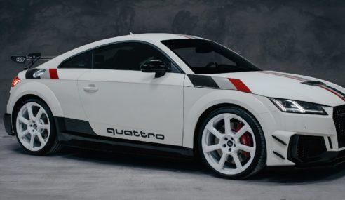Audi TT RS 40 Jahre quattro : futur collector