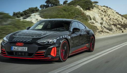 Audi RS e-tron GT : dans les mains de Lucas di Grassi