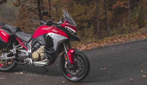 Nouvelle Ducati Multistrada : elle passe au V4