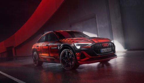 Audi e-tron triple 2020 : pour fêter la victoire