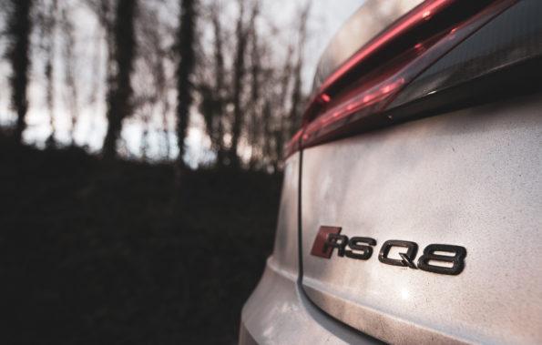 Logo arrière Audi RS Q8