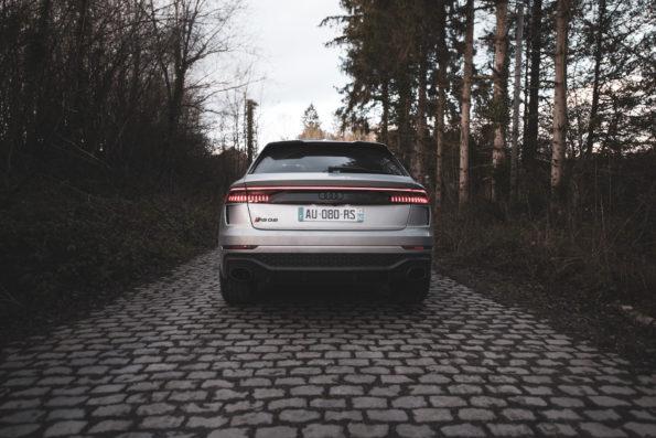 Arrière Audi RS Q8