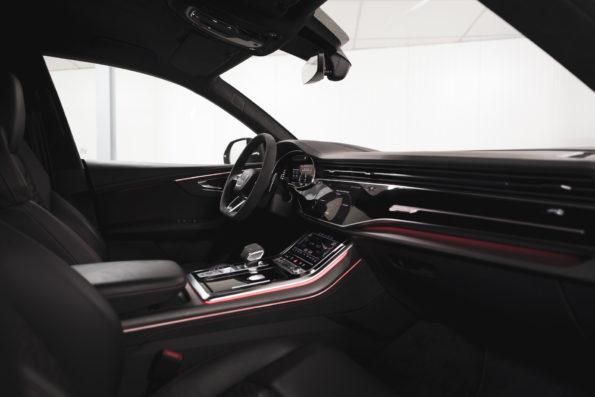 Inside Audi RS Q8
