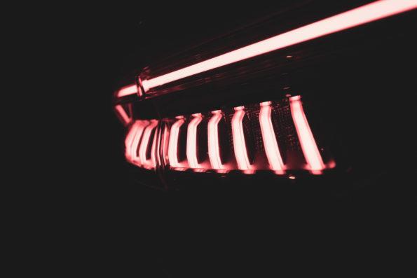 Détail LED arrière Audi RS Q8