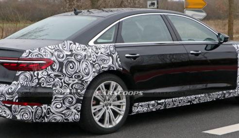 Audi A8 et S8 : facelift en approche
