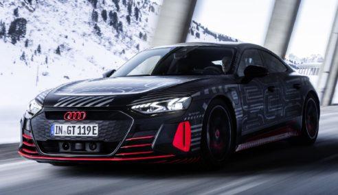 Audi : un futur massivement électrique
