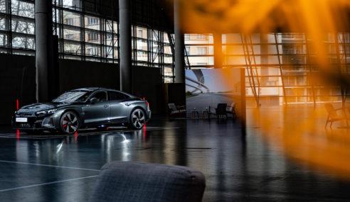 Premier contact avec l'Audi RS e-tron GT