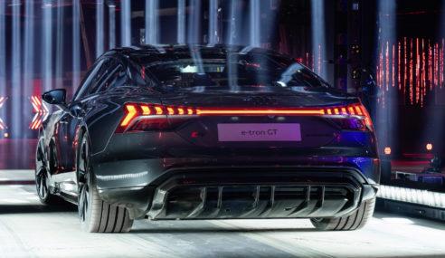 Audi e-tron GT – Moteurs et dynamisme