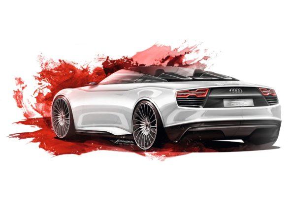 Audi e-tron Spyder - Design