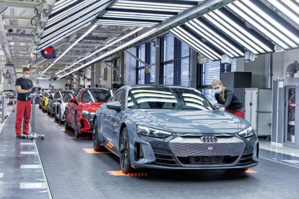 Audi e-tron GT - Production