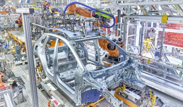 Production Audi Q4 e-tron