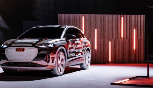 Nouvelle Audi Q4 e-tron : dernière ligne droite