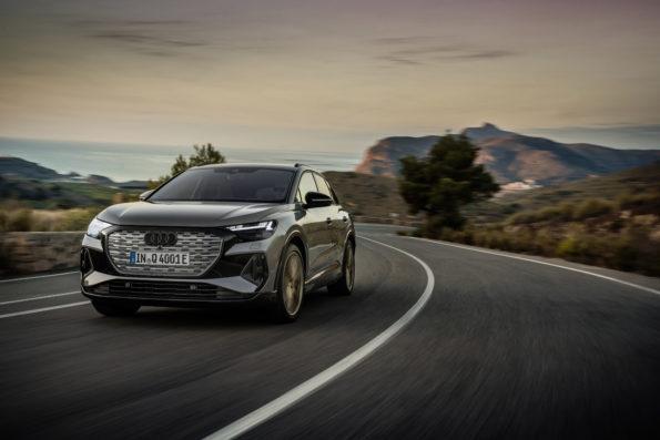 Audi Q4 50 e-tron quattro Edition One - 3/4 Avant