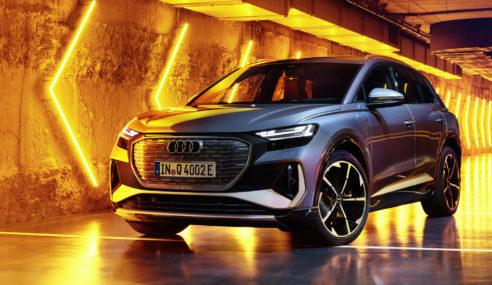 Audi Q4 e-tron : des feux personnalisables