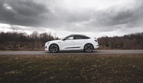 Essai de l'Audi e-tron S Sportback