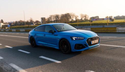 Essai de l'Audi RS 5 Sportback
