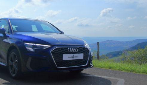 Essai – Audi A3 Sportback S line 40 TFSI e