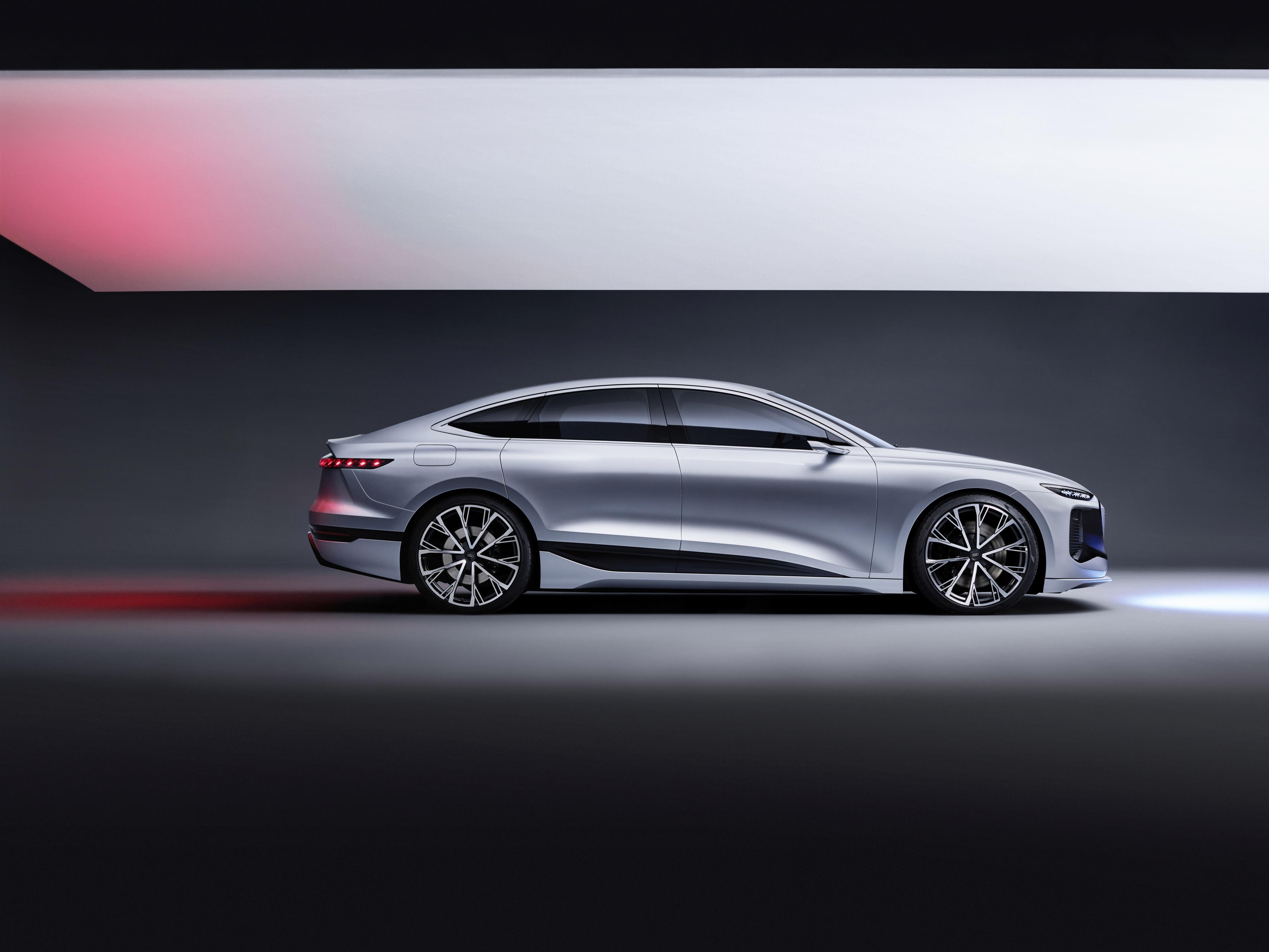 Audi A6 e-tron concept - Profil