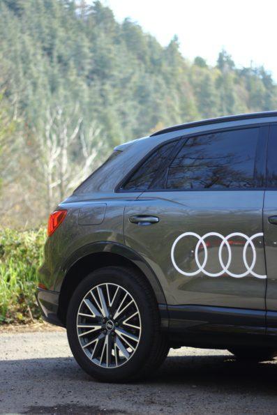 Audi Q3 45 TFSI e - Profil arrière