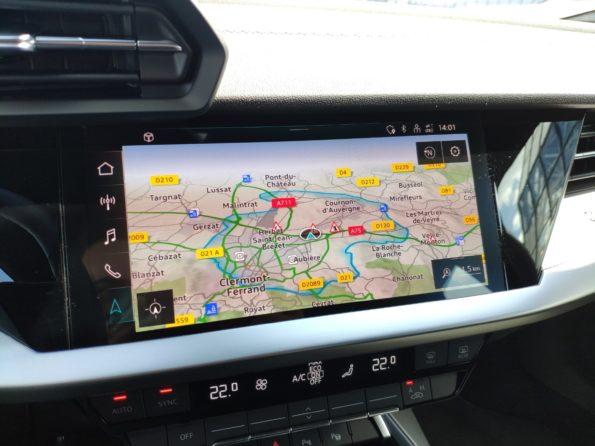 Audi A3 Sportback 40 TFSI e - Ecran MMI