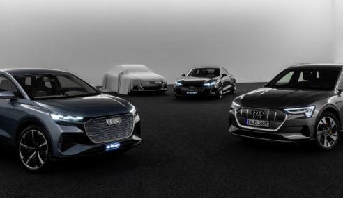 La future berline Audi e-tron sera dévoilée le 19 Avril
