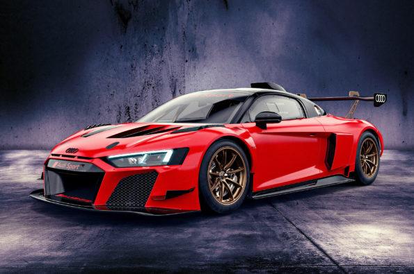 Audi R8 LMS GT2 Misano red