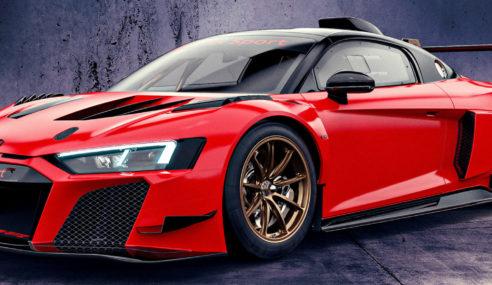 Audi R8 LMS GT2 : haute en couleurs