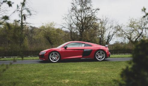 Essai de l'Audi R8 V10 Coupé performance quattro