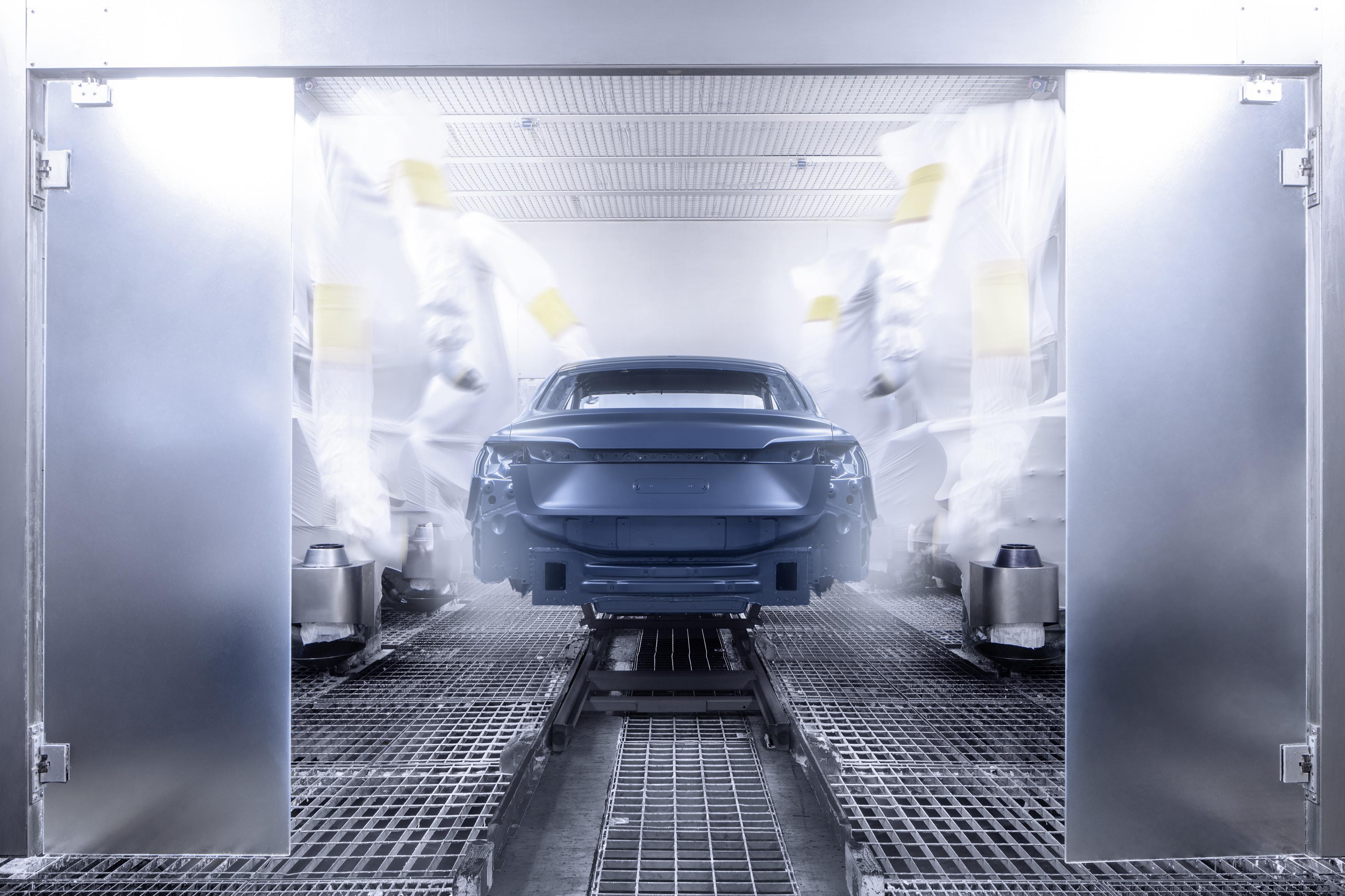 Audi e-tron Sportback - Production chez Audi Brussels