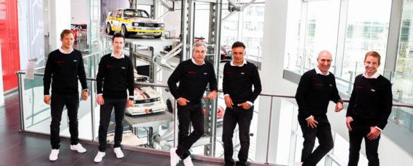 Pilotes Audi Rallye Dakar