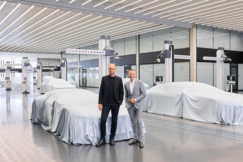 Photo Audi - Henrik Wenders et Marc Lichte
