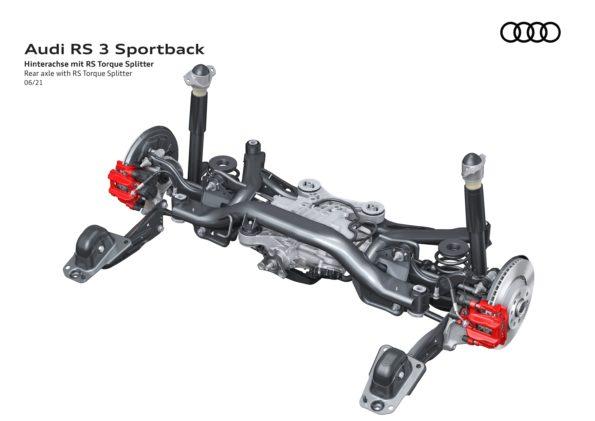 Audi RS 3 Sportback - Train arrière
