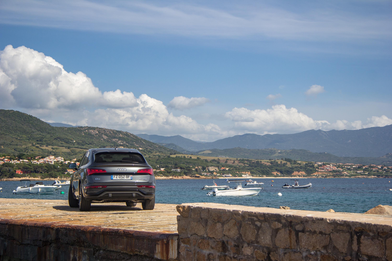 Audi Q5 Sportback 55 TFSI e quattro - 3/4 Arrière