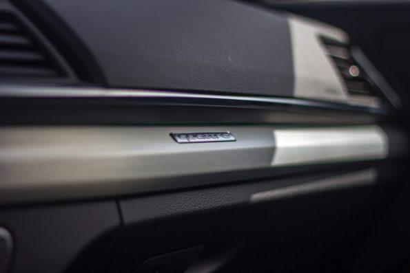 Audi Q5 Sportback 55 TFSI e quattro - Détail habitacle