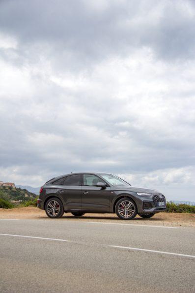 Audi Q5 Sportback 55 TFSI e quattro - Profil