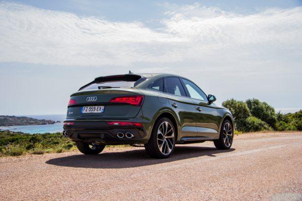 Audi SQ5 Sportback - 3/4 Arrière