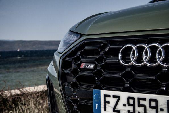 Audi SQ5 Sportback - Détail Calandre