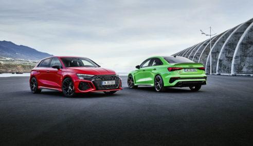 Voici enfin la gamme Audi RS 3 !