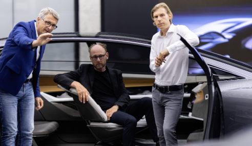 Audi grandsphere Concept : Réinterprétation